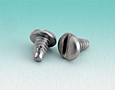 Slotted Flat Thread Cutting Screws Type F