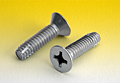 Phillips Flat Head Cutting Screws Type F